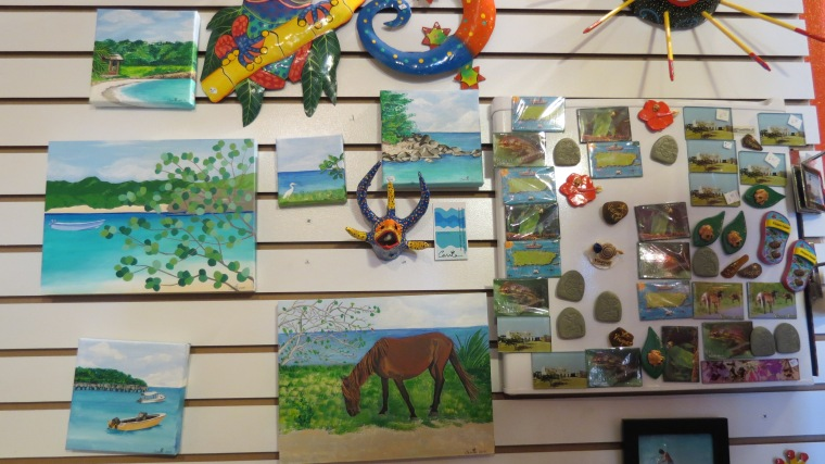Paintings and Souvenirs by local artists
