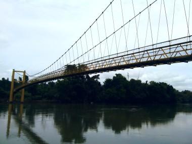 A bridge over Cauvery river