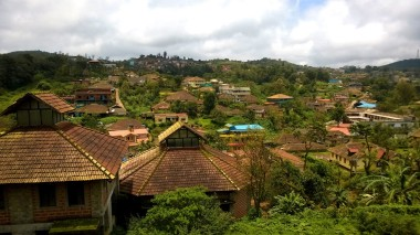 The quaint town of Madikeri