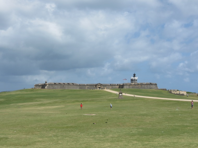 Flying Kites at El Morro
