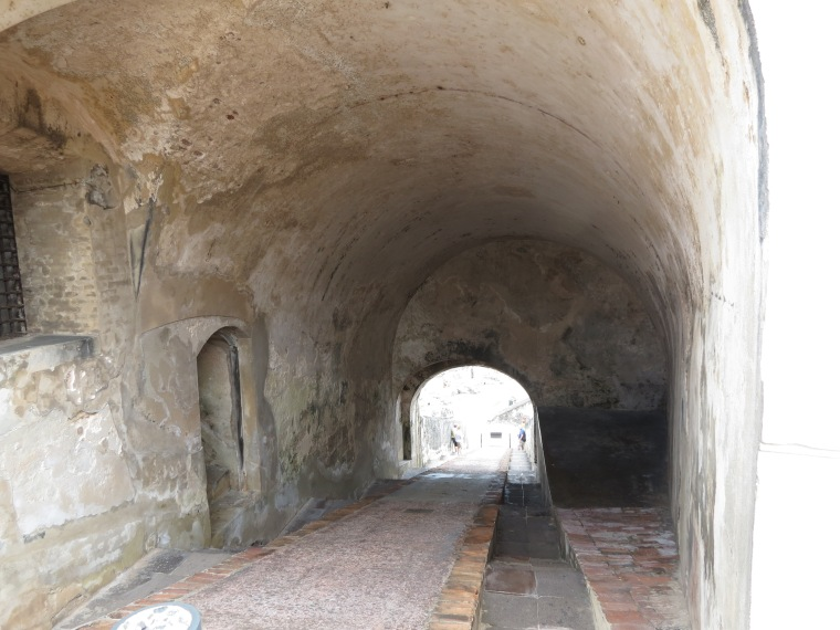 Tunnels at El Morro