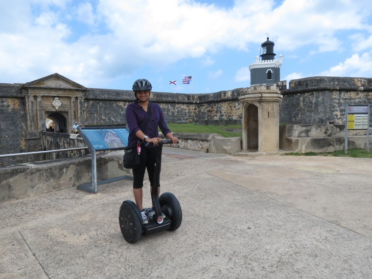 A Segway through Old San Juan