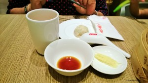 Dimsums at Din Tai Fung