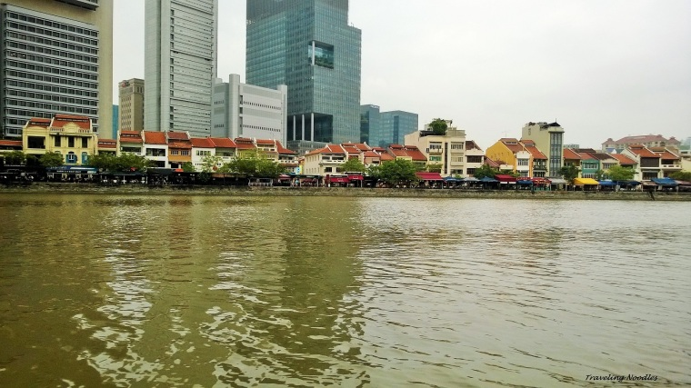 Row of restaurants at Boat Quay