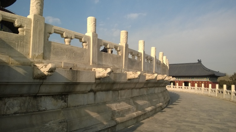 The Dragon level at the Temple of Heaven