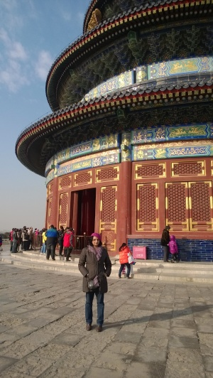 The colors of the Temple of Heaven
