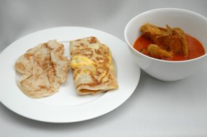 Roti Prata and curry