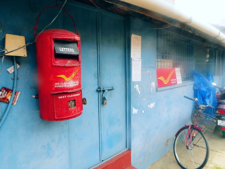 A post office a site which is becoming increasingly rare