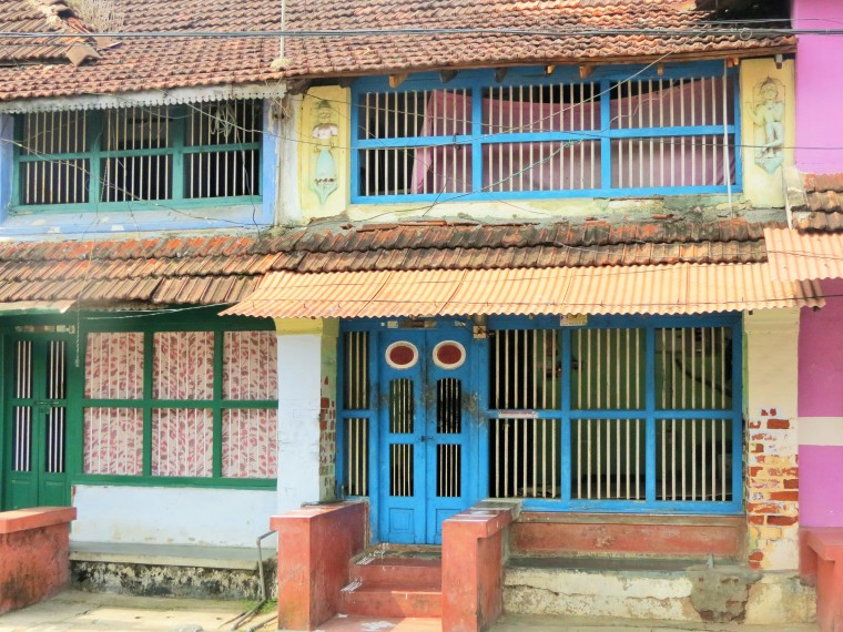 A typical house in Kalpathy