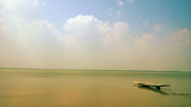 The Salt Pans on the Road to Mahabalipuram