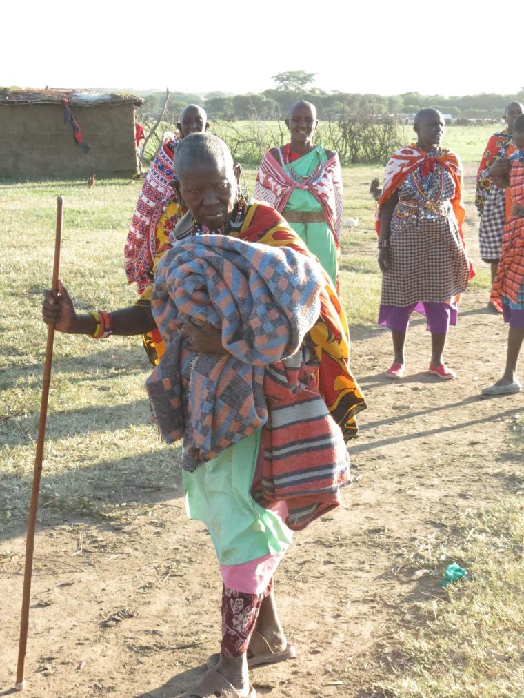 A Masai matriarch