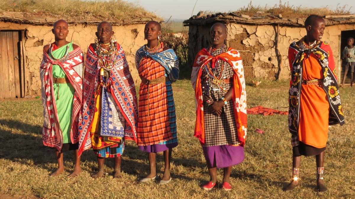 A Meeting With A Masai Warrior