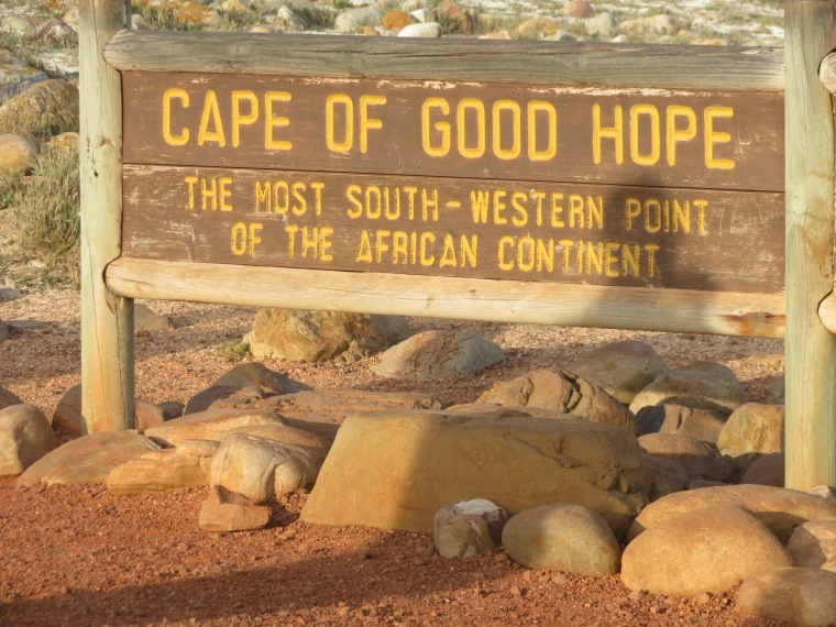 Cape Of Good Hope. The tip of Mainland Africa