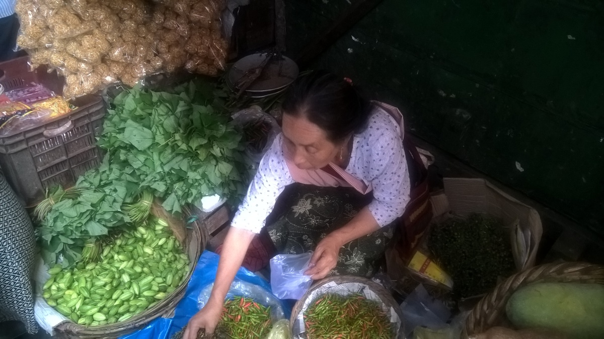 In Search of the Ghost Pepper at Bara Bazaar Shillong